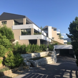Neubau Terrassenhäuser, Obere Wanne, Wattwil